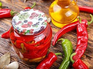 Маринованный горький перец: рецепты на зиму