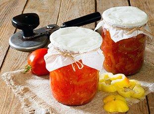 Сладкий перец в томатном соке на зиму