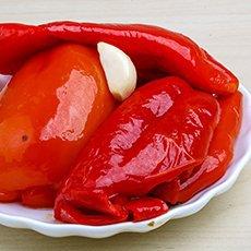 Рецепты заготовок на зиму: жареный перец в масле с чесноком