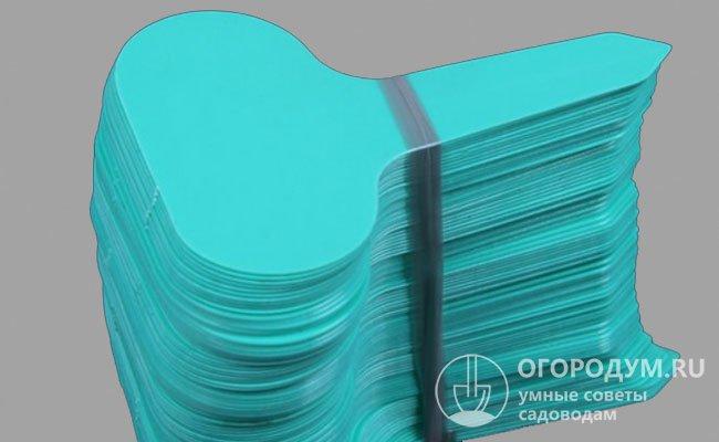 Т-образная пластиковая бирка для растений, набор от 50 шт.