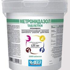 «Метронидазол» для цыплят