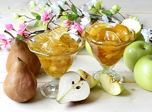 Варенье из груш и яблок на зиму: простые рецепты на зиму