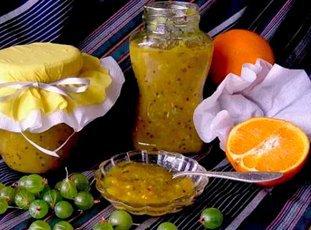 Варенье из крыжовника с апельсином: рецепты домашних заготовок