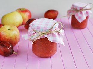 Варенье из слив и яблок на зиму: простые рецепты